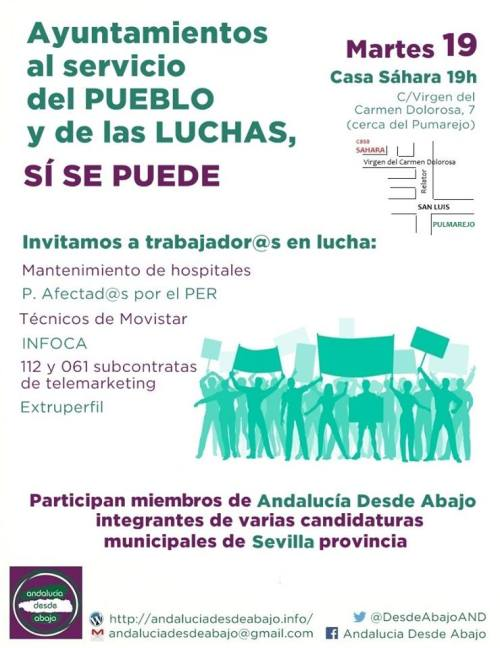 Cartel Acto Candidaturas Alternativas 1