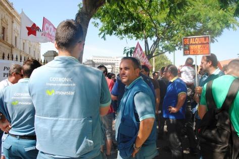 Trabajadores Subcontratas Telefónica./CR