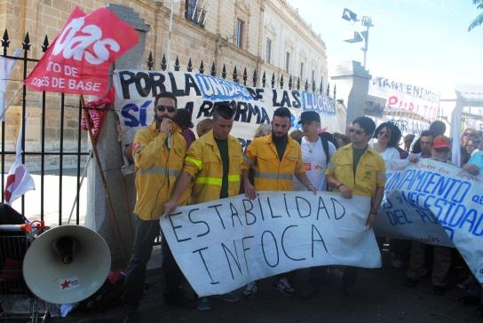 Trabajadores INFOCA./CR