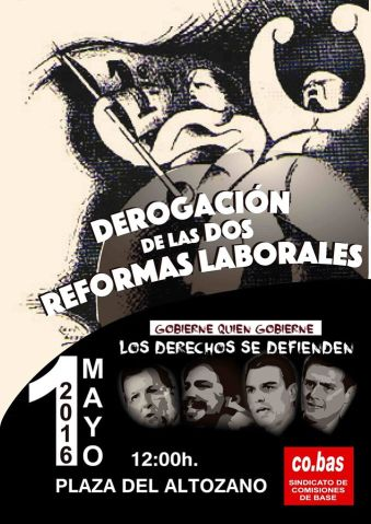 Cartel 1º Mayo Sevilla